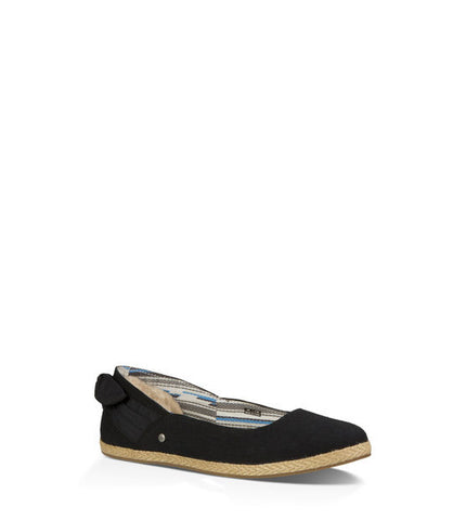 Ugg Perrie Ballet Shoe in Black