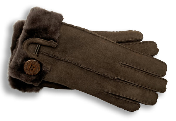 Ugg Turn Cuff Bailey Button Glove U1336