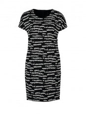 Claudia Strater Dress in Black Print