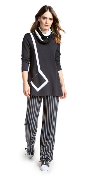 Doris Streich Black & White Top
