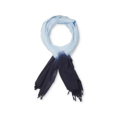 Masai Apin Scarf in Sky and Navy