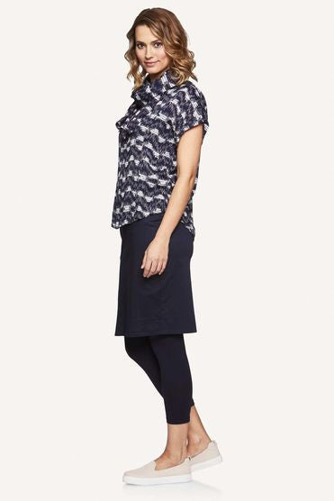 Masai Sabela Skirt in Navy