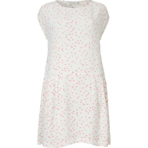 Masai Haidee Fitted Tunic in Lychee and Off-White