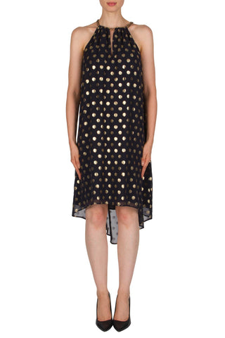 Joseph Ribkoff Navy  Spotted Dress