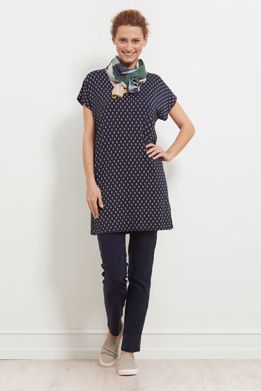 Masai Gerdi Tunic in Navy