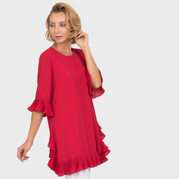 Joseph Ribkoff Red Tunic/Dress