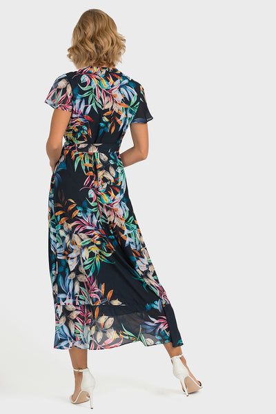 Joseph Ribkoff Floral Dress Navy