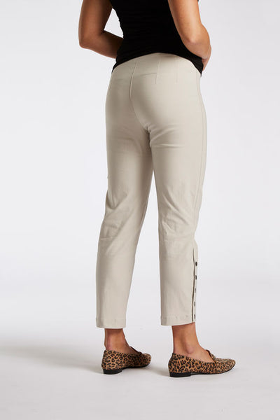 Laurie Polly Cropped Trouser in Sand