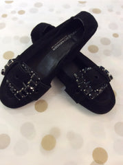 Kennel & Schmenger   Black ballet pump