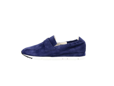 Kennel & Schmenger Tiger Ball Sports Loafer in Navy