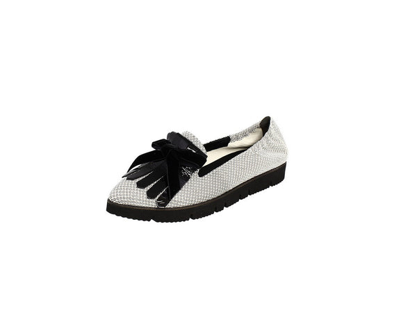 Kennel & Schmenger Pia X Slip On in Black and White