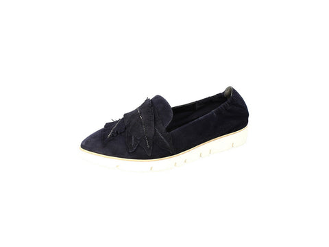 Kennel and Schmenger Pia X Leaf Detail Slip On in Black
