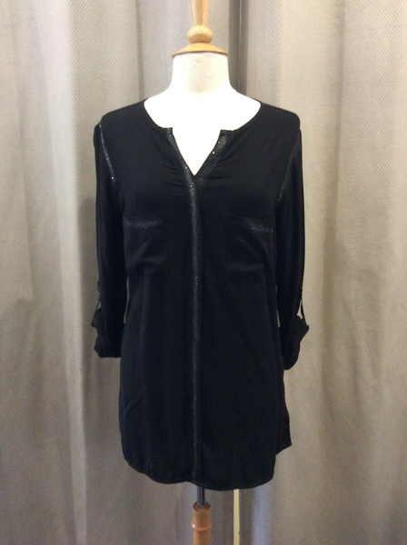 Doris Streich Black Blouse