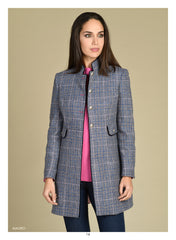 Bariloche Long Line  checked Jacket