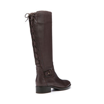 Geox Felicity Knee High Boot in Brown