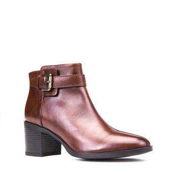 Geox Glynna Brown Ankle Boot