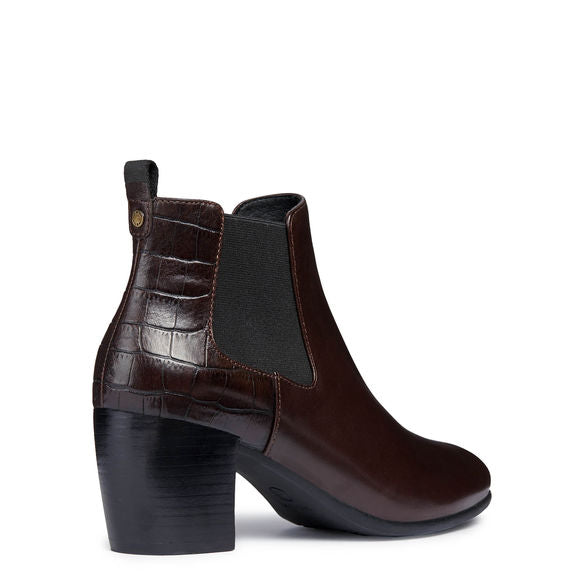 Geox Lucinda Ankle Boot in Coffee