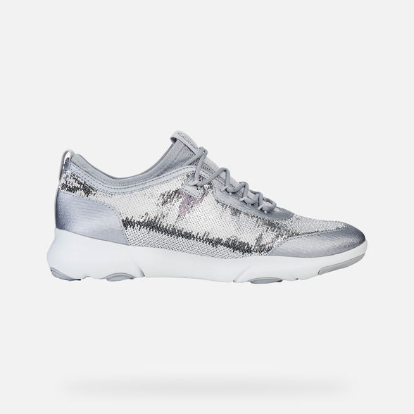 Geox Nebula Trainer in silver