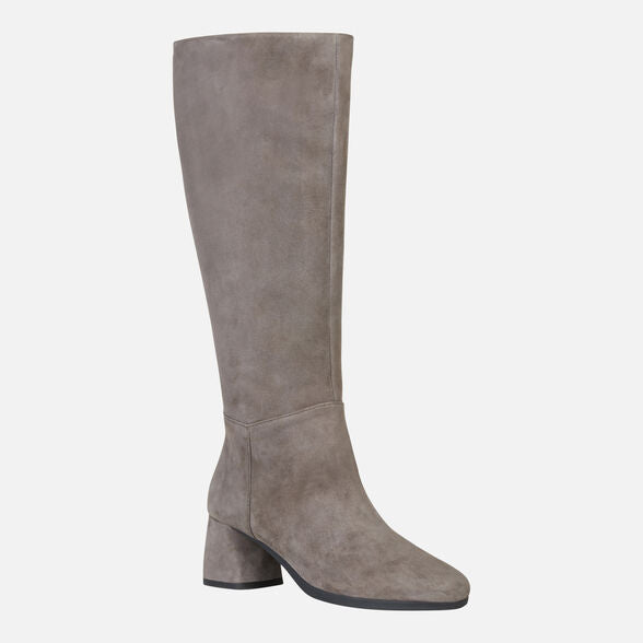 Geox Carlinda Long Boot in Hazelnut
