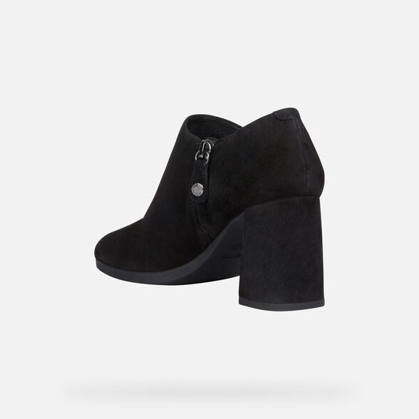 Geox Calinda Shoe Boot in Black