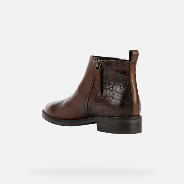 Geox Bettanie Ankle Boot in Brown