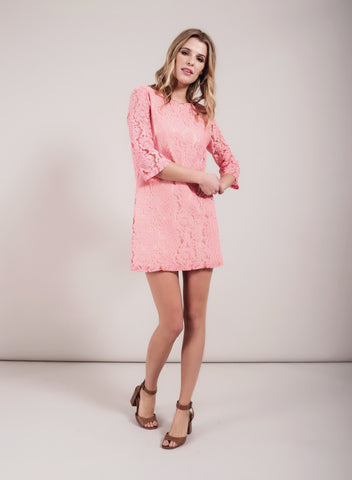 Darling Ariana Tunic in bright pink