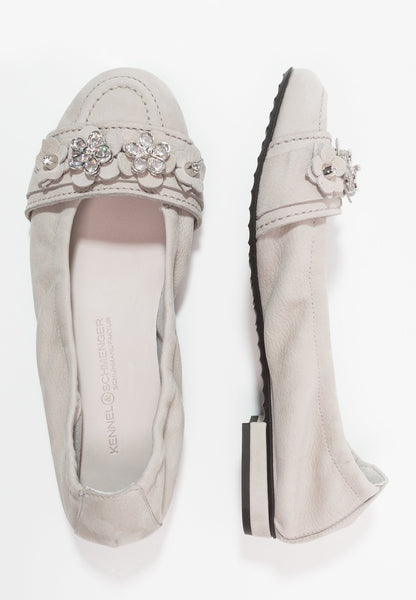 Kennel & Schmenger Malu Ballet Pump in Light Crystal