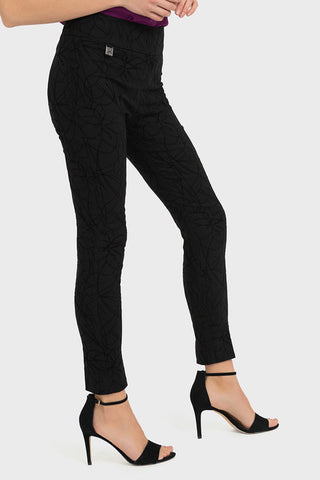 Joseph Ribkoff Slim Black Trousers