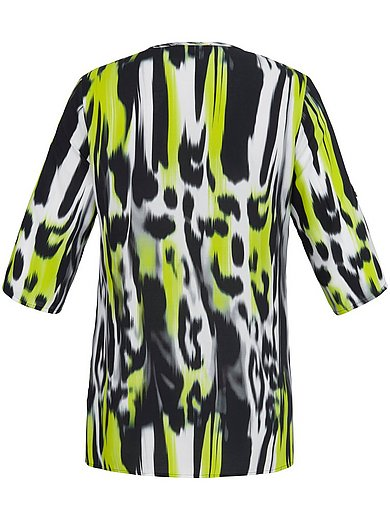 Doris Streich Lime Print Top