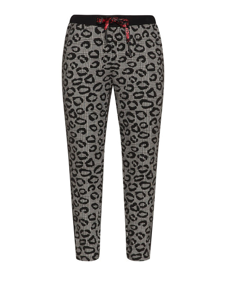 Doris Streich Black & White Print Trouser