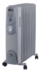 11 Fin 2400W Oil Heater with Timer