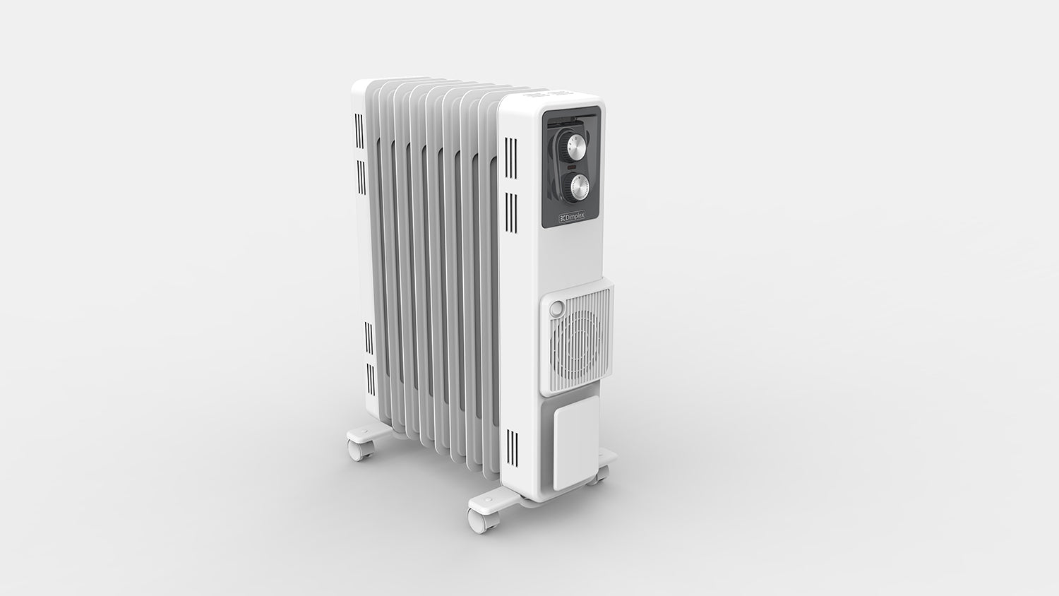 2.4kW Oil Column Heater with Turbo Fan