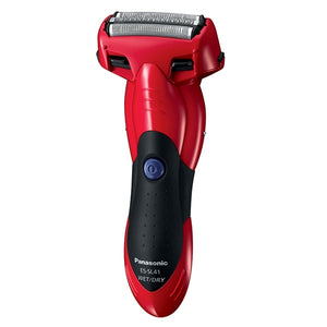 Panasonic ESSL41R541 3 BLADE WET/DRY SHAVER, RED