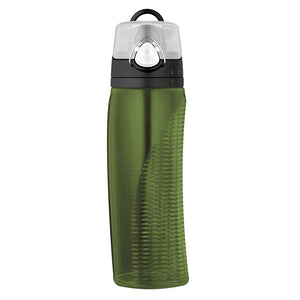 THERMOS  710ml Single Wall BPA Free Eastman Tritan? Copolyester Hydration Bottle ? Olive Green