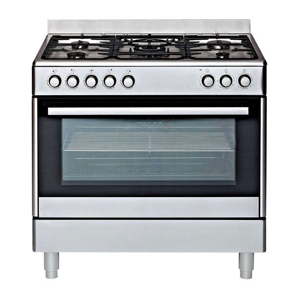 Euromaid GE90S 90cm Dual Fuel Upright Cooker