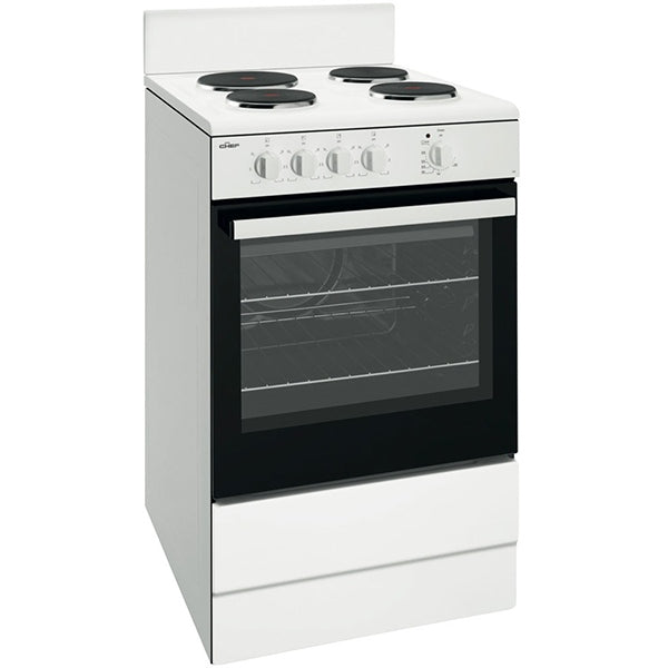 Chef CFE532WB 540mm Upright Electric Cooker
