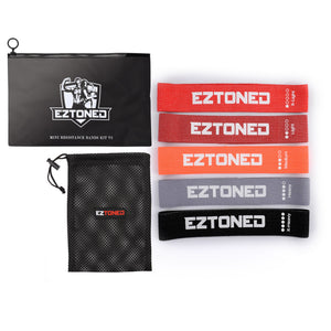 EzToned Mini Resistance Bands Workout Kit (V2) - Free Trial Subscription