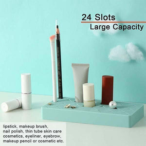 Creative Silicone Lipstick Storage Box