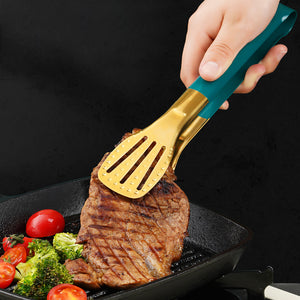 304 stainless steel Barbecue Tongs Steak Tongs