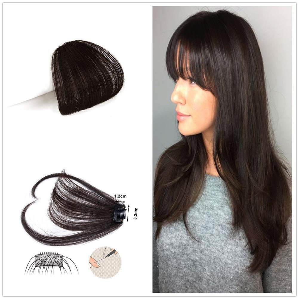 Front Bang Fringe Hair Extension Piece