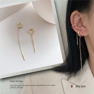 Asymmetrical Ear Bone Clip