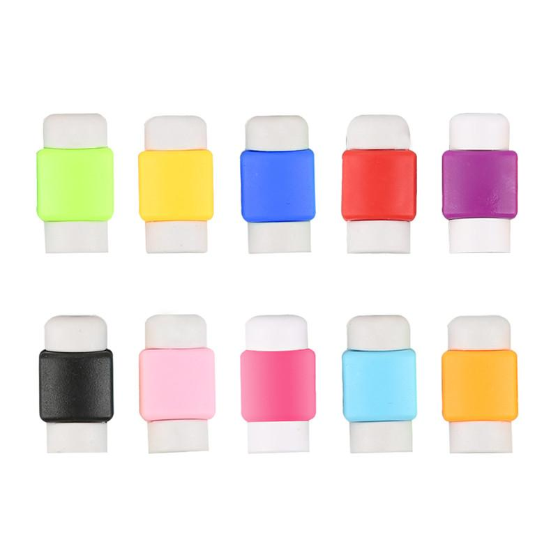 Colorful Data Line Protective Cover