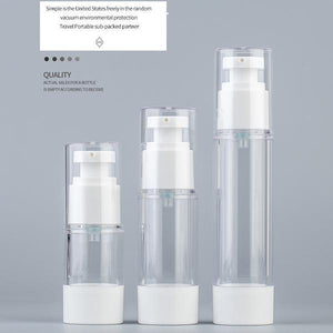 Airless Pump Bottles (4pcs)