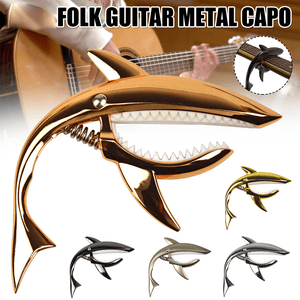 Copy of Bite The String Shark Acoustic Guitar Capo