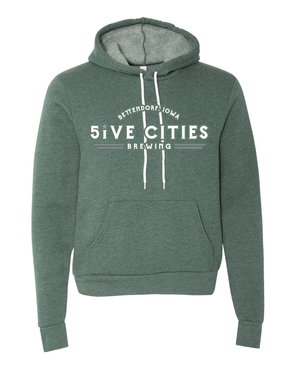 5CB Hoodie - Forest Green