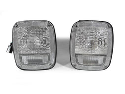 1996-2006 Jeep Wrangler TJ Clear or Smoke Rear Tail Light Set Made by DEPO-Lighting-DEPO-TL-JP-TJ-CLR-Jeep Hood Latch