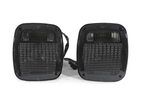 1996-2006 Jeep Wrangler TJ Clear or Smoke Rear Tail Light Set Made by DEPO