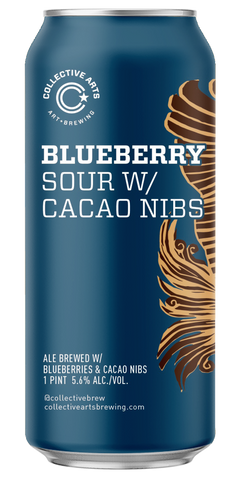 BLUEBERRY SOUR W/ CACAO