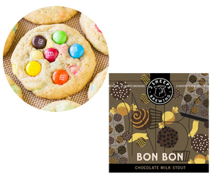 M&M Cookie with 3 Sheeps Bon Bon