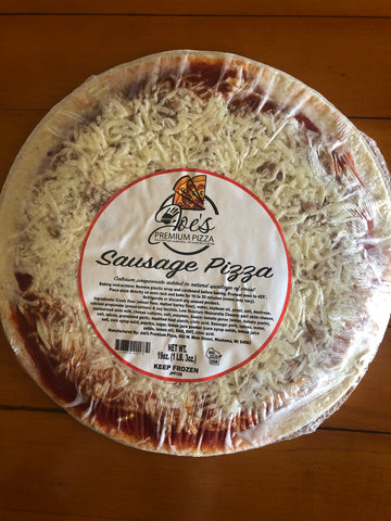 Sausage Frozen Pizza